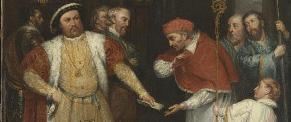 Discrace-of-cardinal-wolsey