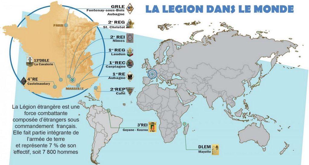 Muukalaislegioona maailmalla, Ranskan armeija