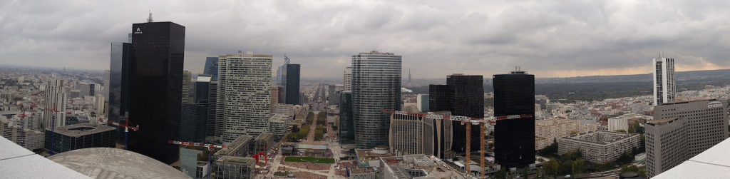 La defence Pariisi panorama