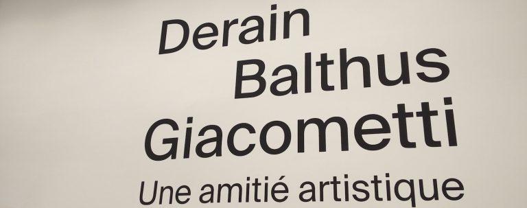 Museot Pariisi Derain Balthus Giacometti