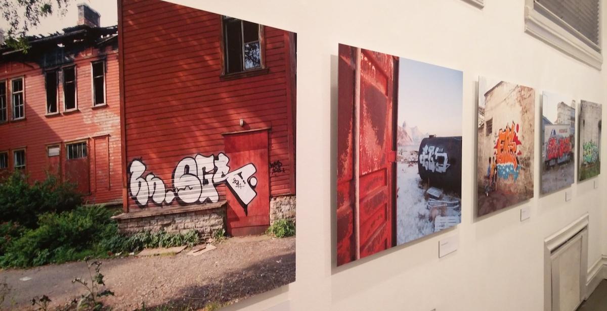 EGS valokuvat graffitit taidehalli