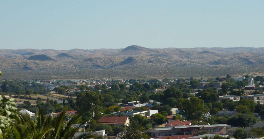 Namibia-Windhoek-maisema