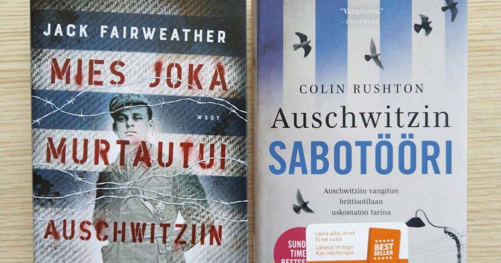 Kaksi kirjaa Auschwitzista-kannet-FB